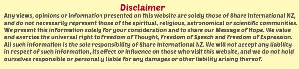 SI NZ Disclaimer