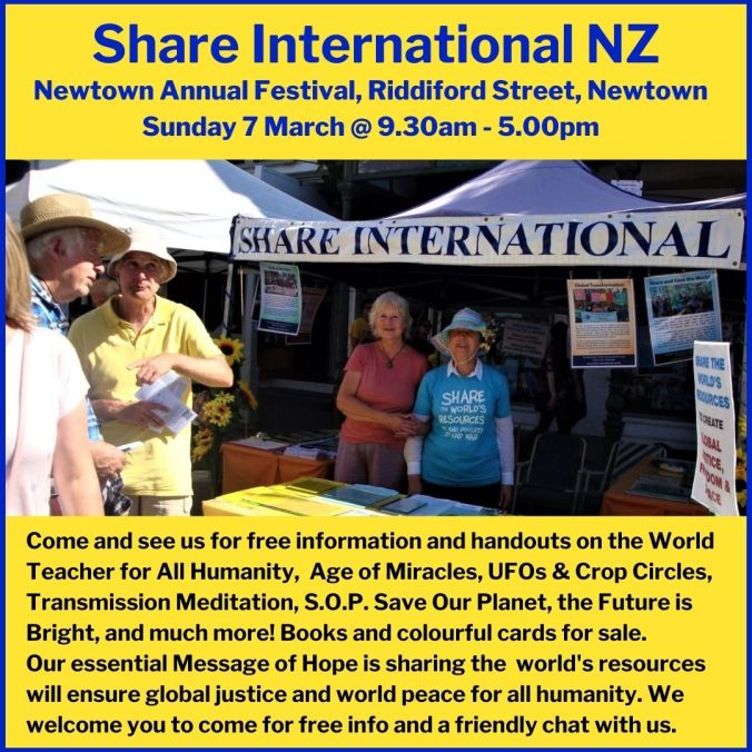 8) Newtown Annual Festival Sunday 7 March 2021