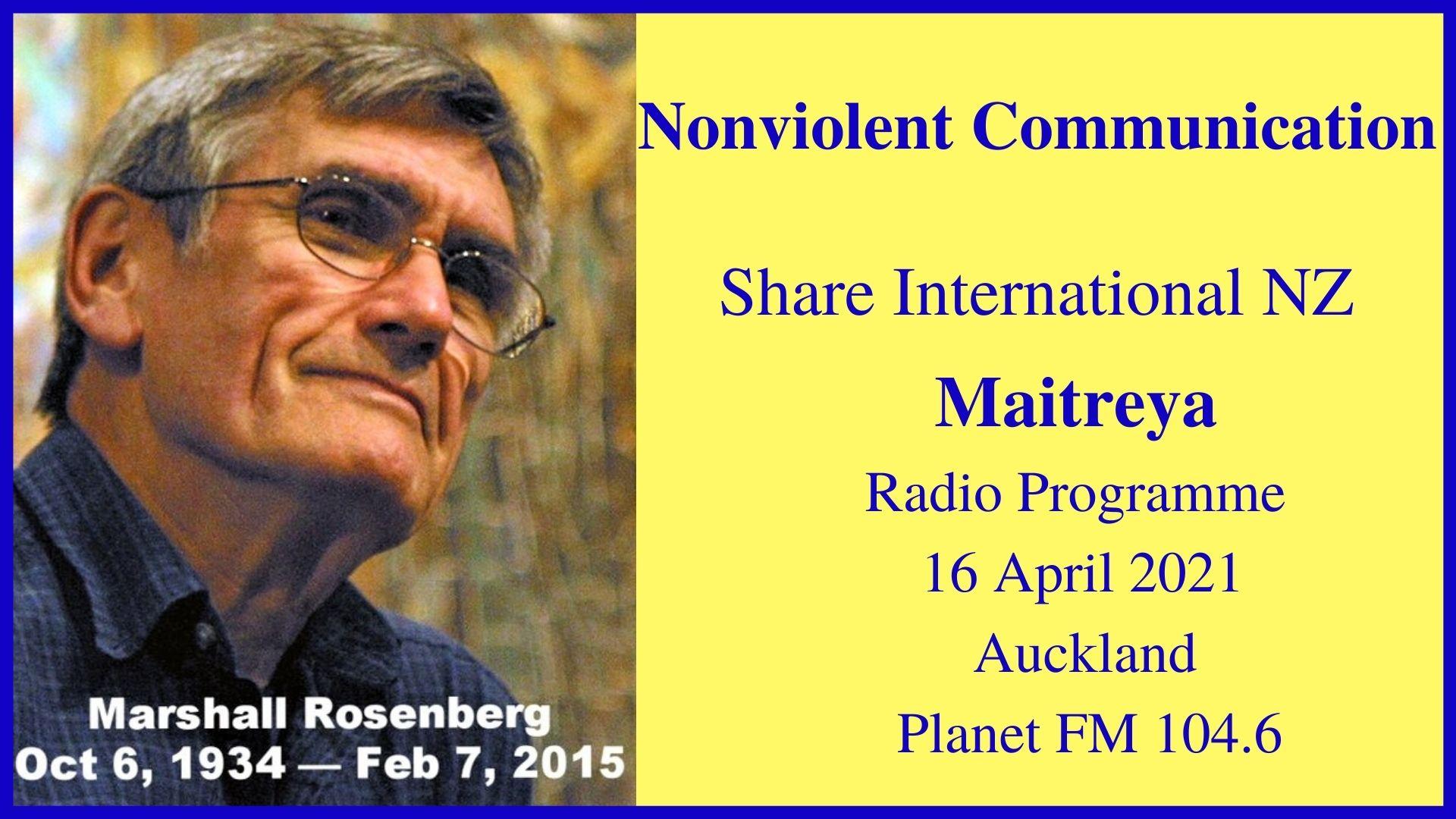 1) Nonviolent Communication 16 April 2021 #2