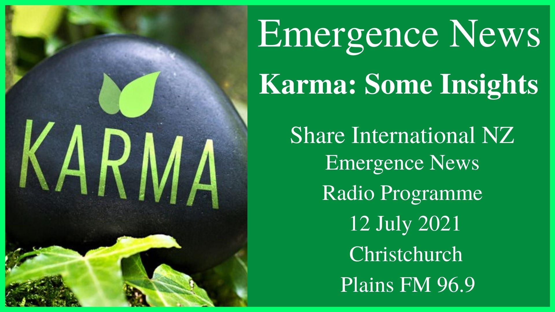 54) Karma Some Insights