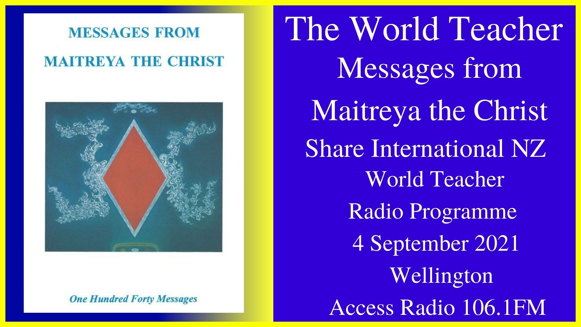 35) Messages from Maitreya the Christ