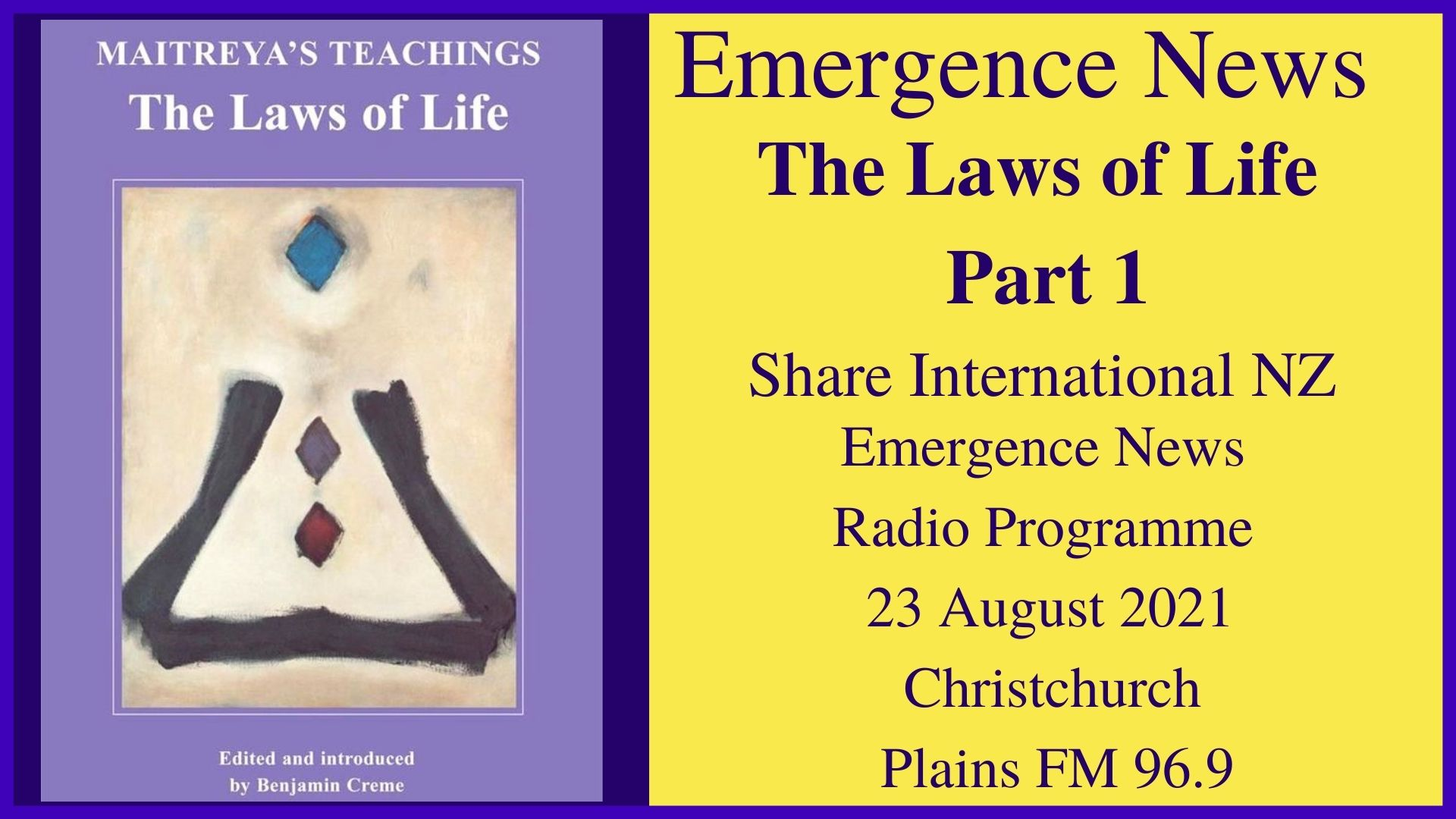 57) The Laws of Life (Part 1)